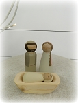 Nativity Peg Doll Set